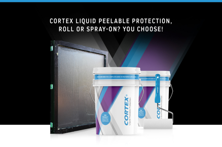 Roll or Spray-on Liquid Peelable Protection