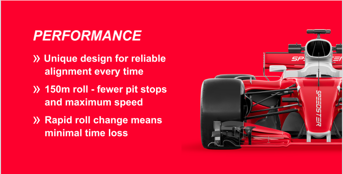 Performance Benefits of the speedster