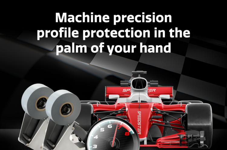 Machine Precision profile protection in the palm of your hand